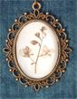 Pendentif fleurs s�ch�es