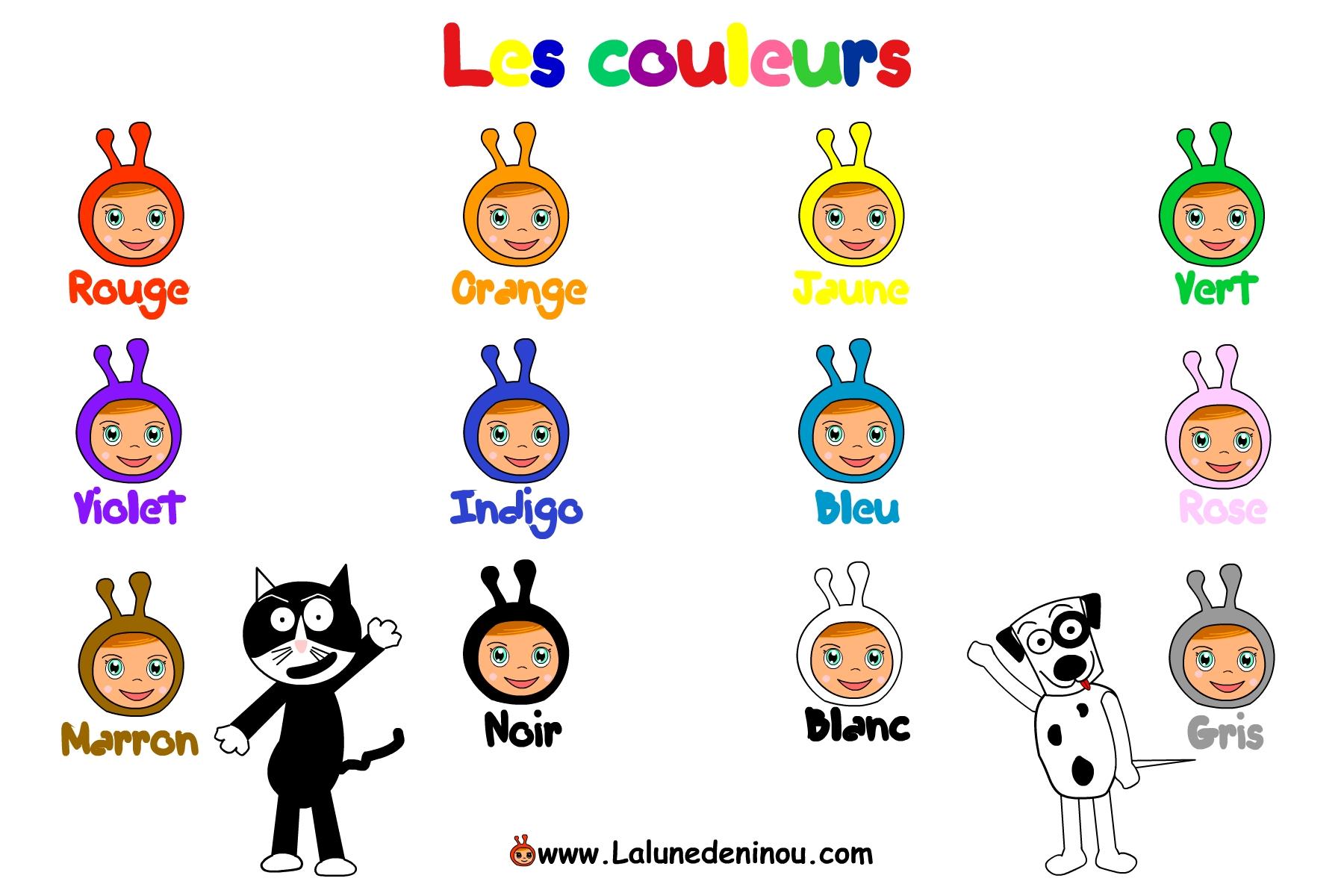 Apprendre les couleurs, rouge, bleu..- Jeux pour enfants sur ...