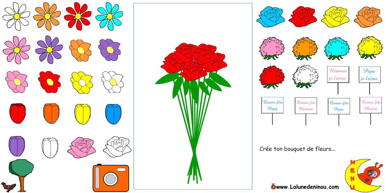 Jeu de bouquet de fleurs en ligne for Ligne de fleurs