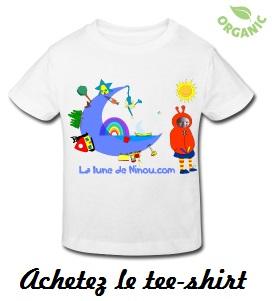 Tee-shirt lune de ninou