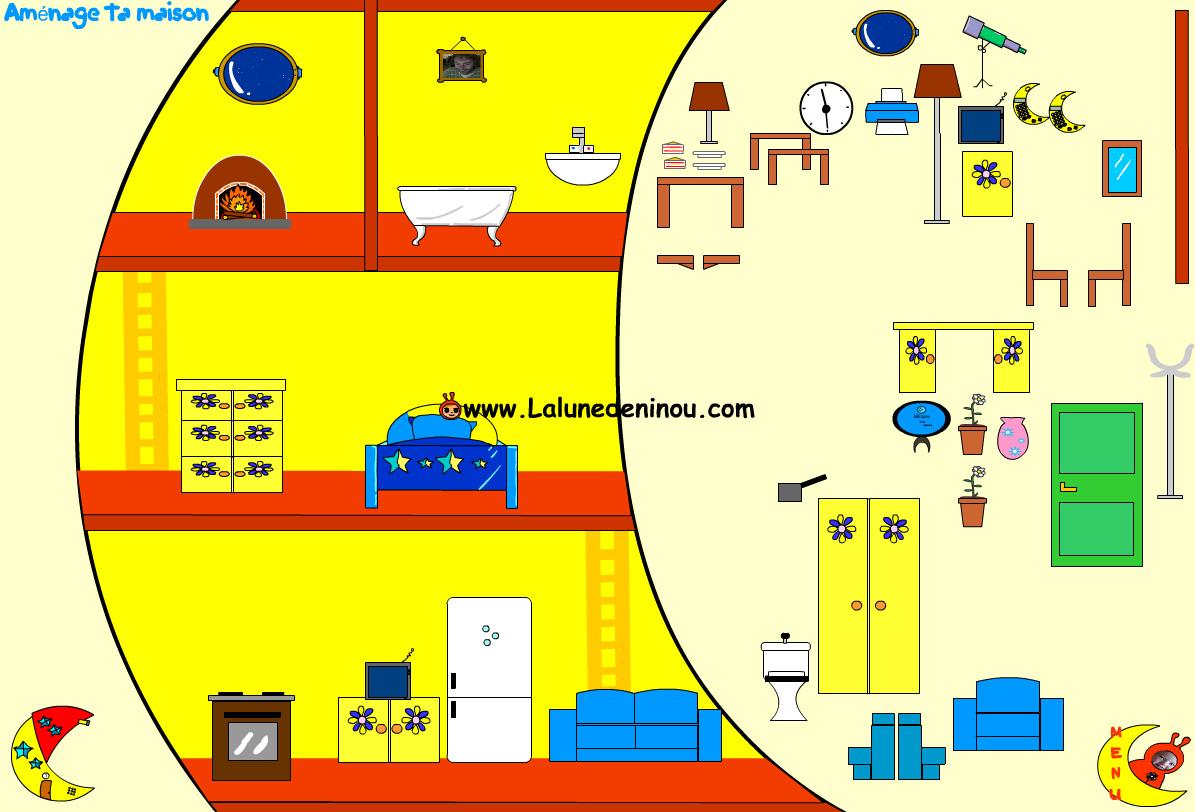 d corer la maison jeux de maison pour enfants sur. Black Bedroom Furniture Sets. Home Design Ideas