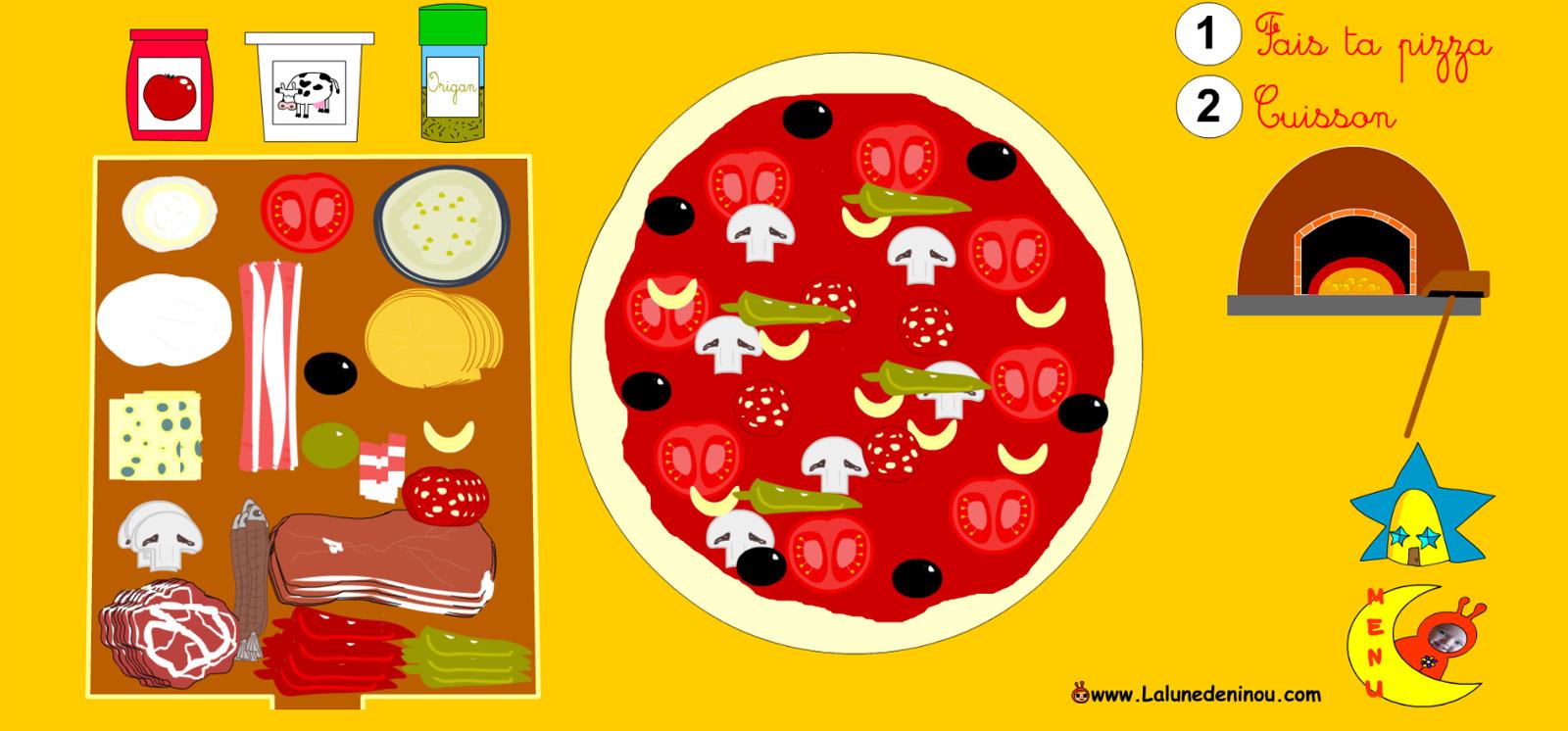 jeux de pizza