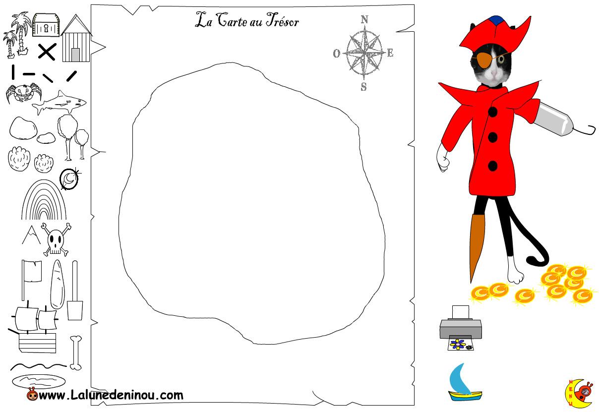 Faire une carte au tr sor jeux pour enfants sur - Jeux pour dessiner gratuit ...