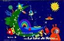 Jeux éducatifs pour petits enfants sur la Lune de Ninou
